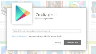 kody Google Play